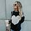 Thumbnail: Casual Fashion Women Sweater Female Reversible Heart