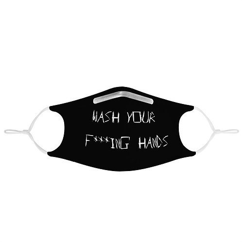 Wash Your F***ing Hands Mask   Fashion Face Mask