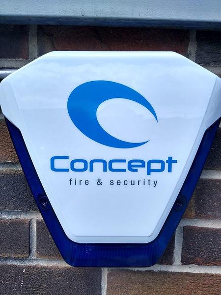 Intruder Alarm Concept Fire and Security. Security Solutions Cardiff. Burglar Alarm_