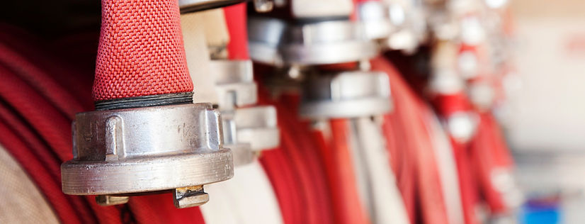 Fire Hose. Wet Risers. Dry Riser. Fire Safety Solutions Cardiff, UK.