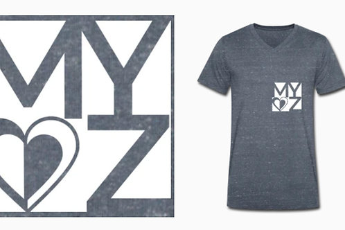 BIO Shirt Männer grau