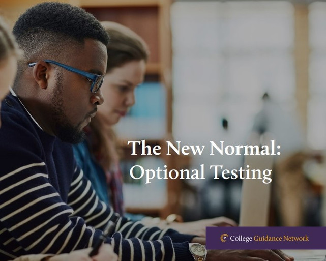 Navigating the New Normal of Optional Testing
