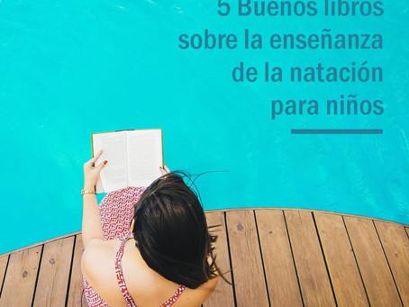 5 libros sobre natación para niños