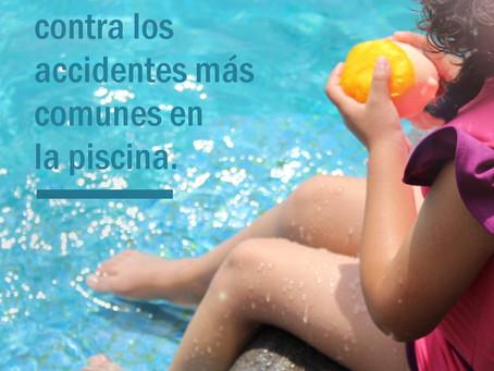 Medidas contra accidentes comunes en la piscina