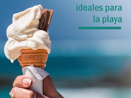 5 Snacks ideales para la playa