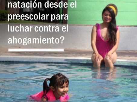 ¿Iniciación a la natación desde el preescolar para luchar contra el ahogamiento?
