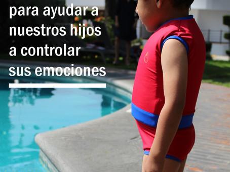 5 pasos para ayudar a nuestros hijos a controlar sus emociones