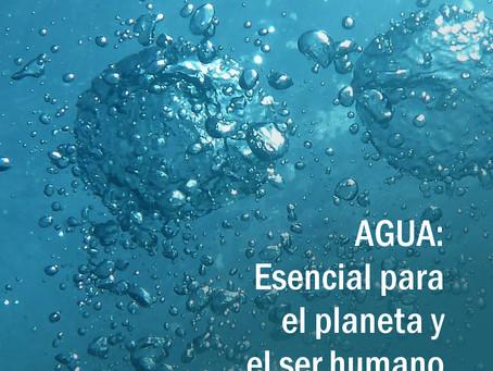 AGUA : Un recurso esencial para el planeta y el ser humano.
