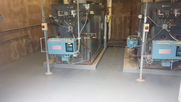 Small electrical room