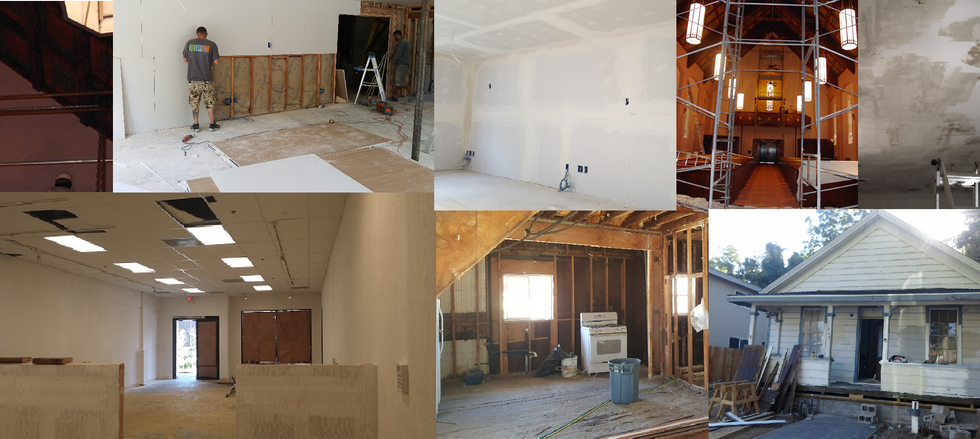New construction / Restoration / Rehab / Remodel