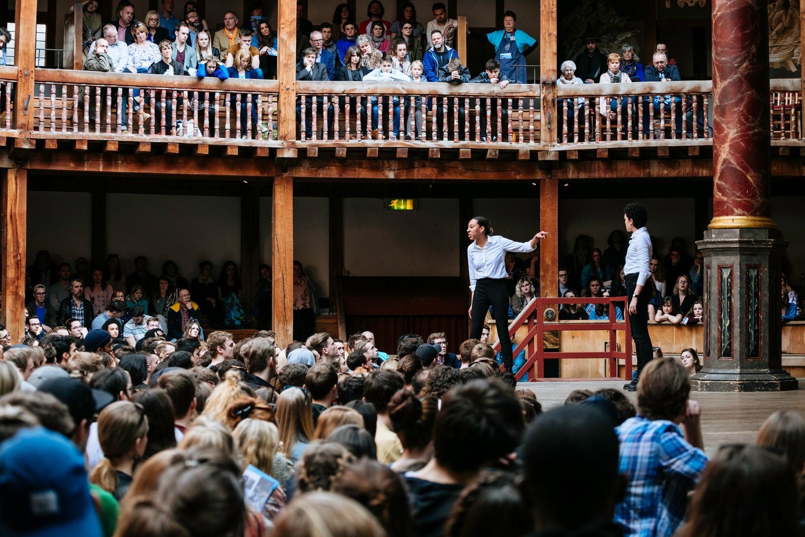 Julius Caesar by William Shakespeare Directed by Simon Dormandy Sam Wanamaker Festival, Shakespeare's Globe in London