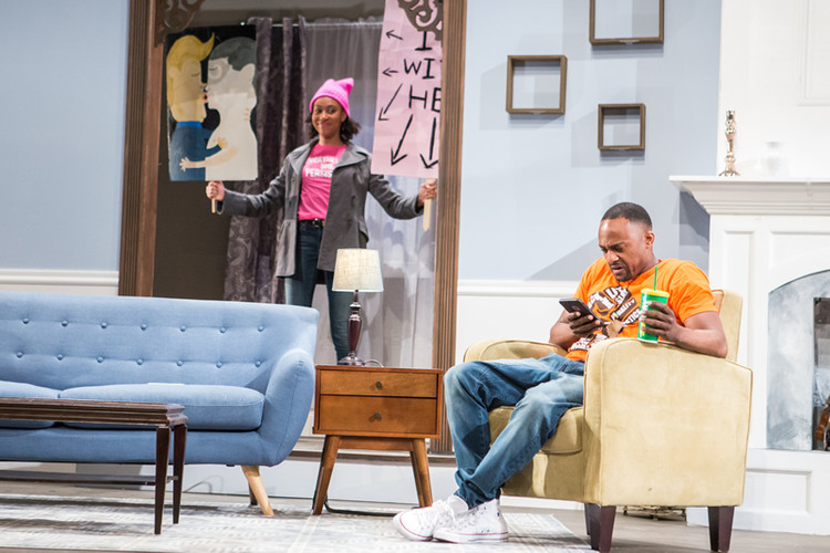 Back to the Real by Pia Wilson Directed by Marshall Jones III Crossroads Theatre Company