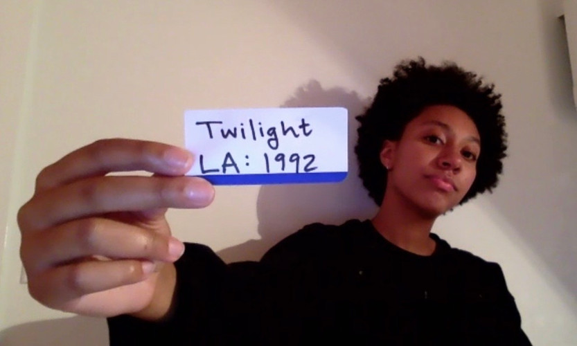 Twilight: Los Angeles 1992 By Anna Deavere Smith Directed by Roz Bevan  Newton Theatre Company