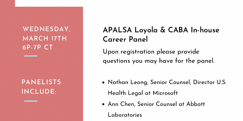 In-House Career Panel