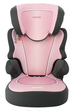 Autostoel groep 2-3 Nania Befix Roze