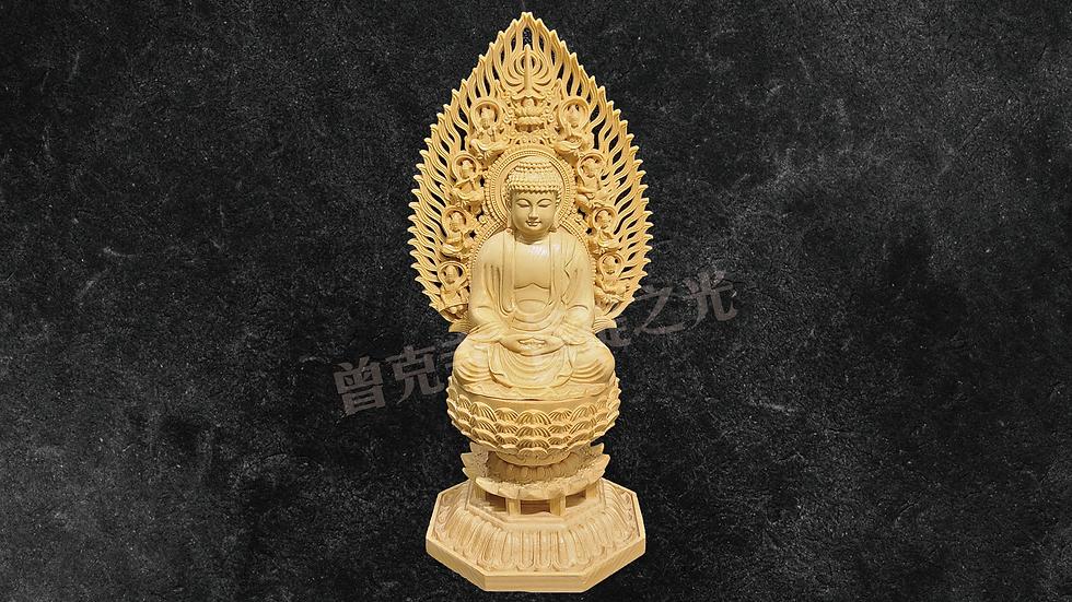黃楊木雕釋迦牟尼佛