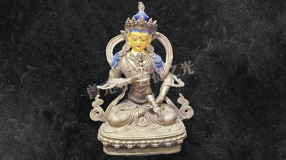 金剛薩多菩薩銅像已在寺院安藏加持