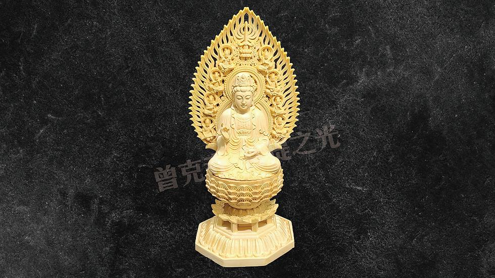 36 黃楊木雕之觀音菩薩