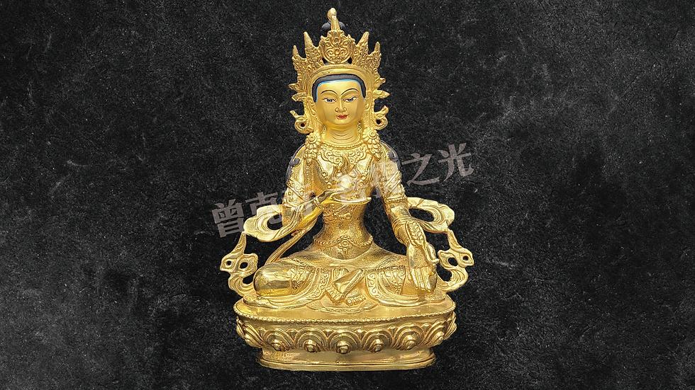 地藏王菩薩銅像已在寺院安藏加持