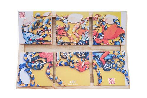Thánh Gióng - 6 pieces