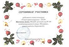 Сертификат участника район нов игрушка 2