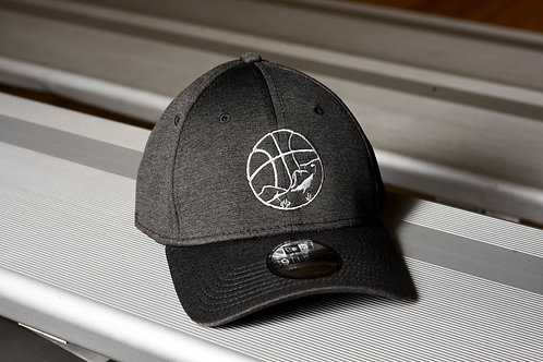 Fitted dark grey OVBA hat
