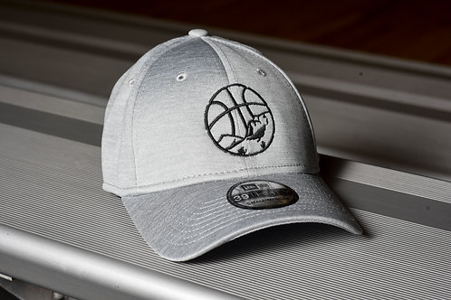 Fitted light grey OVBA hat