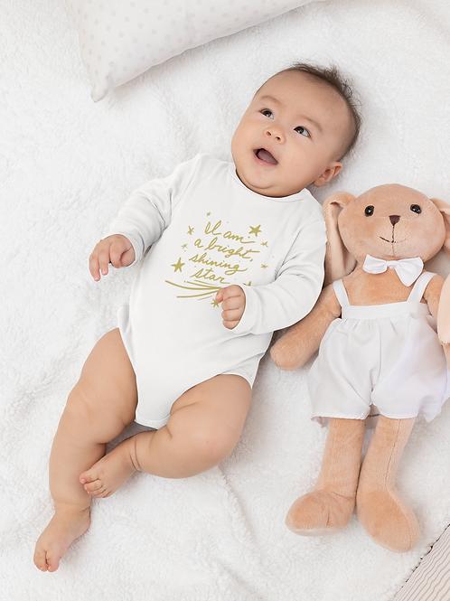 Shining Star Infant Long Sleeve Bodysuit