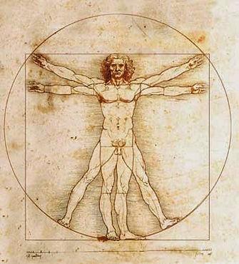 Vitruvius - Leonardo da Vinci