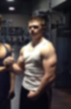 Teen bodybuilder, Matthew Cabello, student coach, wrestler