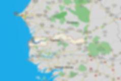 Карта Гамбии