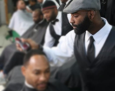 Owner and operater Herbert Williams of Vintage the Barbershop Atlant.