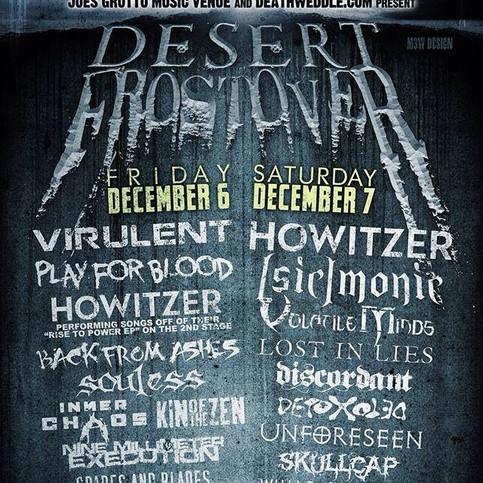 Desert Frostover - Joe's Grotto - December 6 & 7
