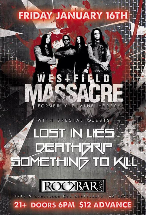 Lost In Lies Direct Support for Westfield Massacre