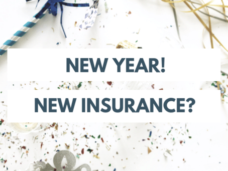 Happy New Year, Insurance Ready or Not