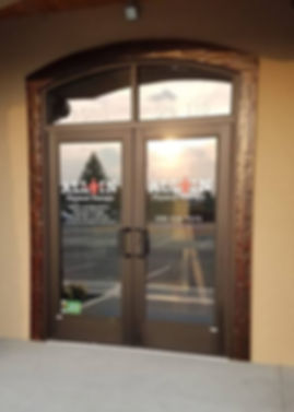 All In Physical Therapy Front Doors