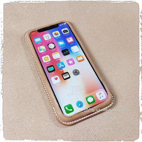 iPhone X レザーケース