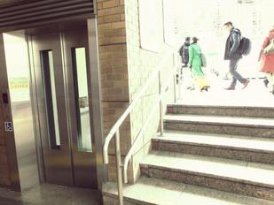 5段のためだけのエレベーター