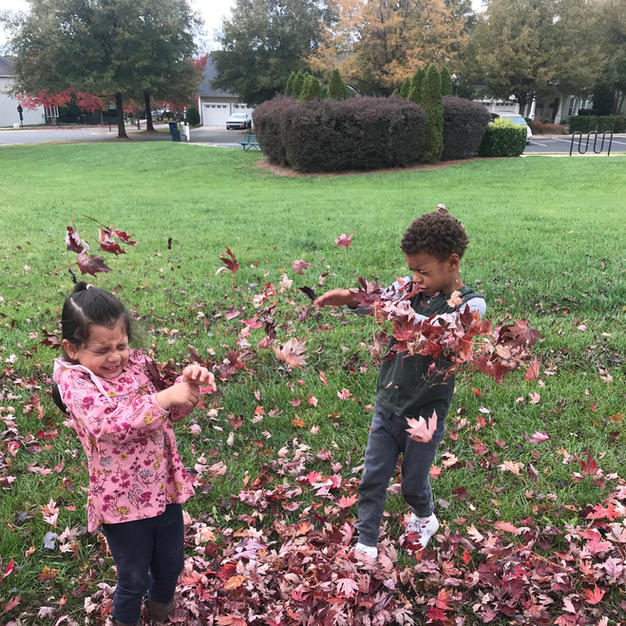 Outdoor Play In The Field