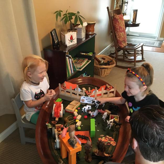 Creative Play Table