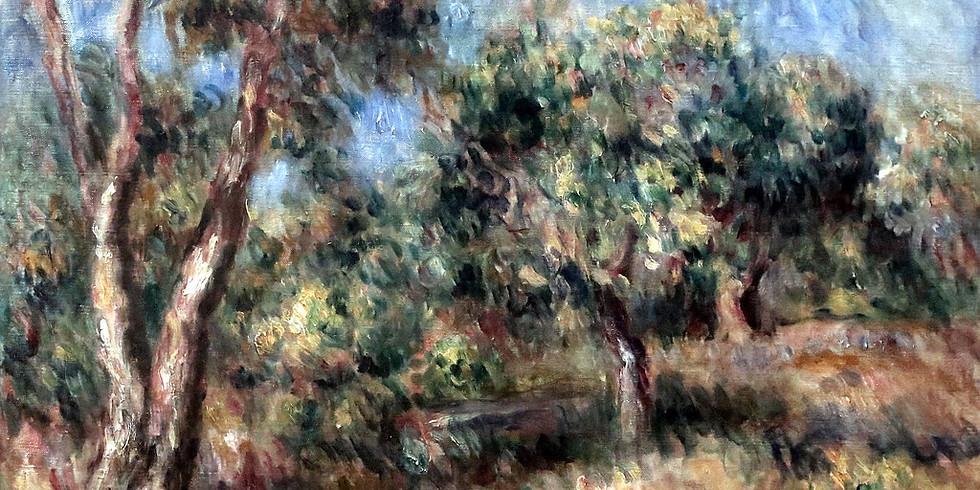 Creative wander at Renoir's garden
