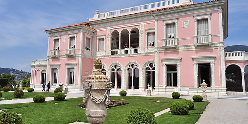 Villa Ephrussi de Rothschild with 9 dream gardens