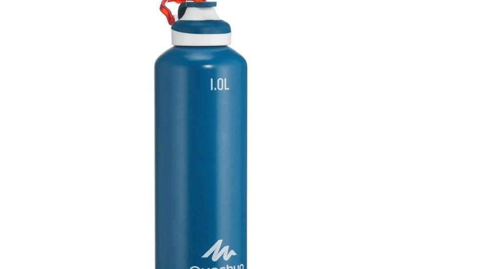 Алуминиумско шише за планинарење Quechua 100 1L