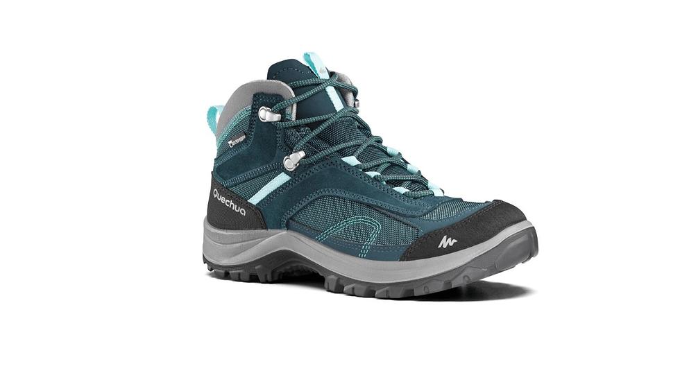 Женски обувки за планинарење Quechua MH100