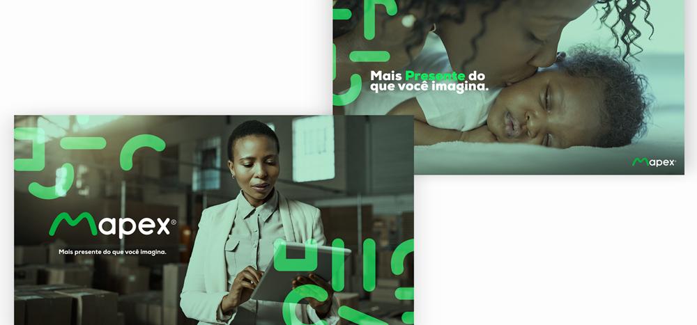 Logo e identidade Mapex