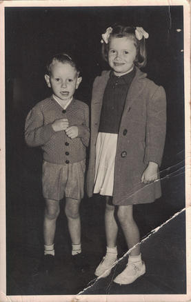 16 - A young brother and sister