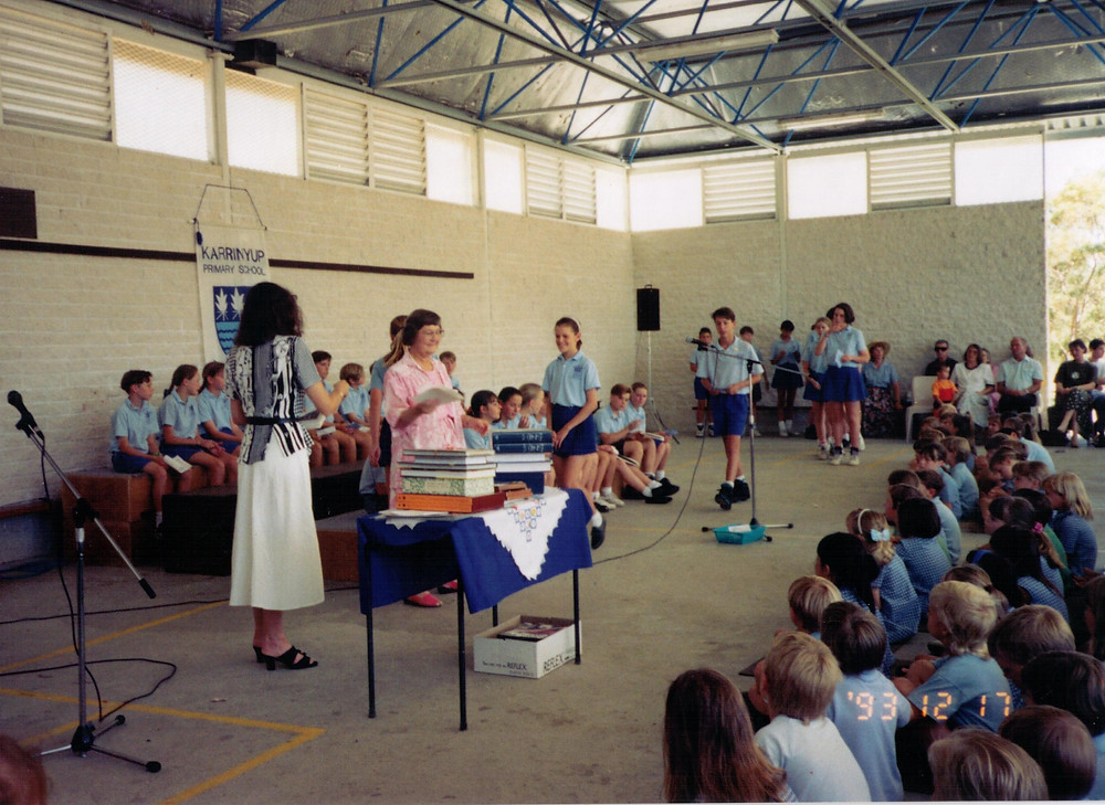 Graduating from Karrinyup Primary School in 1993 - it feels like a lifetime ago in the comfort of my childhood, remember sweet memories last forever!