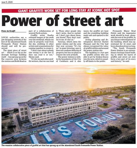 Power of street art