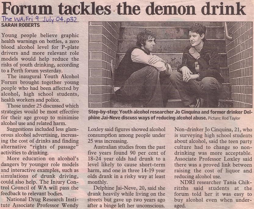 23 - The West Australian - 9 July 2004.p