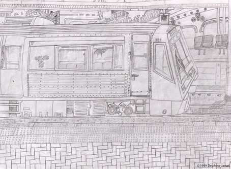 Blast From the Past: Perth Train Drawing